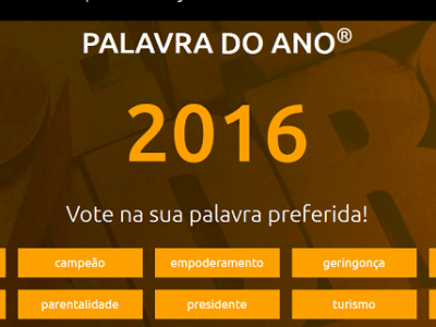 palavra do ano em portugal geringonça