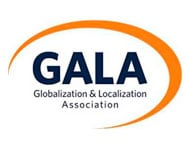 Logotipo Gala - Globalization & Localization Association - Por Korn Traduções
