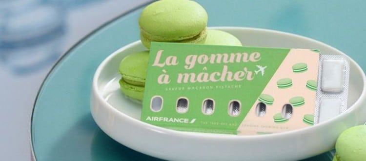 air france chiclete passageiros