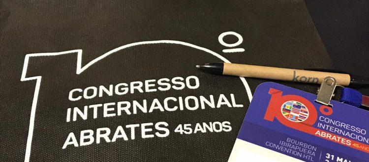 Korn Traduções no 10 Congresso Internacional Abrates