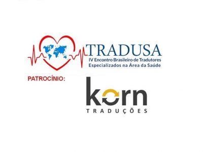 Tradusa - patrocinadora Korn Traduções juramentadas