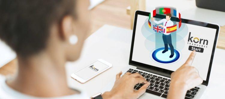 Com o avanço da tecnologia, seu negócio tem ainda mais chances de ser conhecido no mundo. A tradução do site da sua empresa é essencial para garantir que seu produto ou serviço alcance o mercado global. Confie na Korn Traduções.