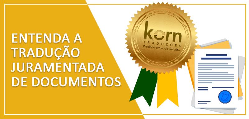 A tradução juramentada tem como objetivo validar oficialmente documentos em idioma estrangeiro no Brasil e só deve ser feita por um tradutor juramentado.